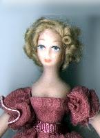 "1/2"" Costumed Miniature Dolls"
